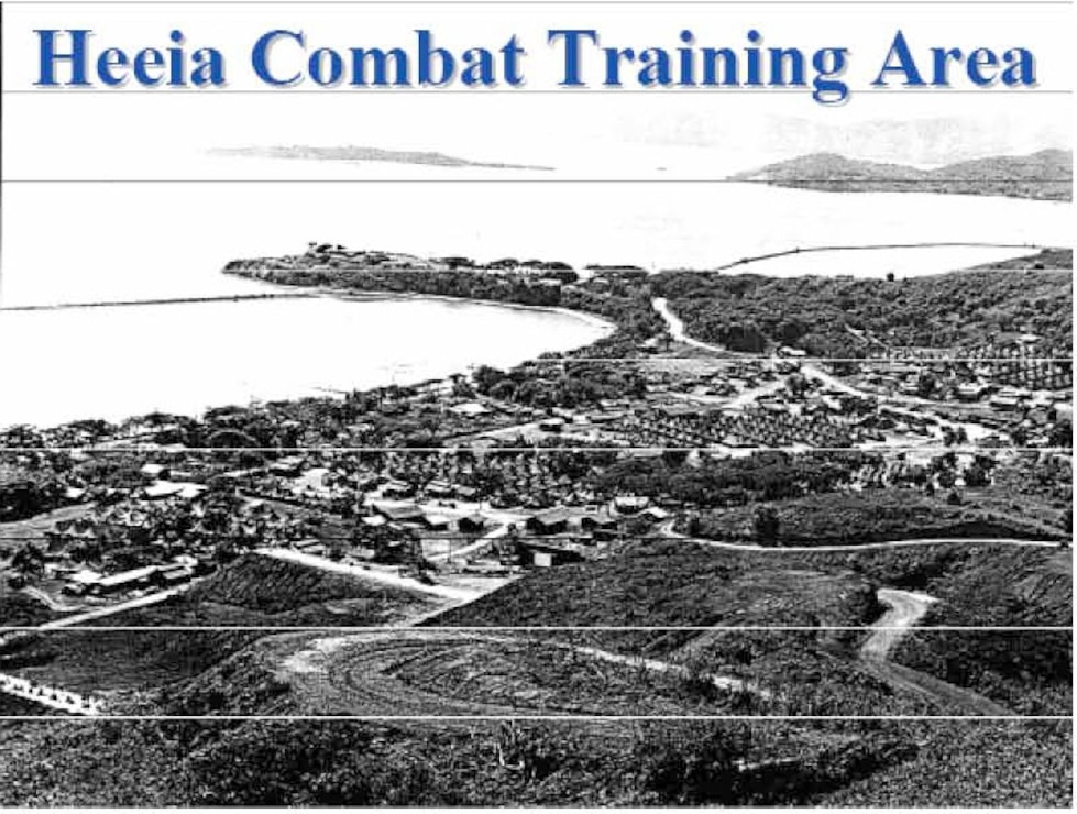 Former Heeia Combat Training Area (CTA)