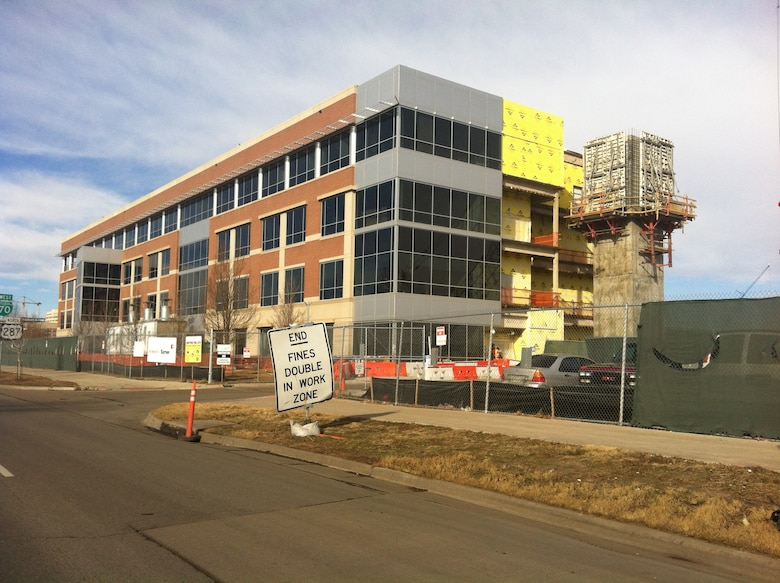 BUCKLEY AIR FORCE BASE, Colo.-- The 460th Medical Group moves to a new facility at 13611 East Colfax Ave. in Aurora, Colo. as part of a joint venture with Veterans Affairs. (U.S. Air Force photo by 1st Lt. Charlie Stevens)