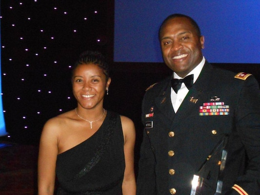 PHILADELPHIA — Lt. Col. Anthony Mitchell and Tamika McDowell attend the Black Engineer of the Year conference here, Feb. 16-18.