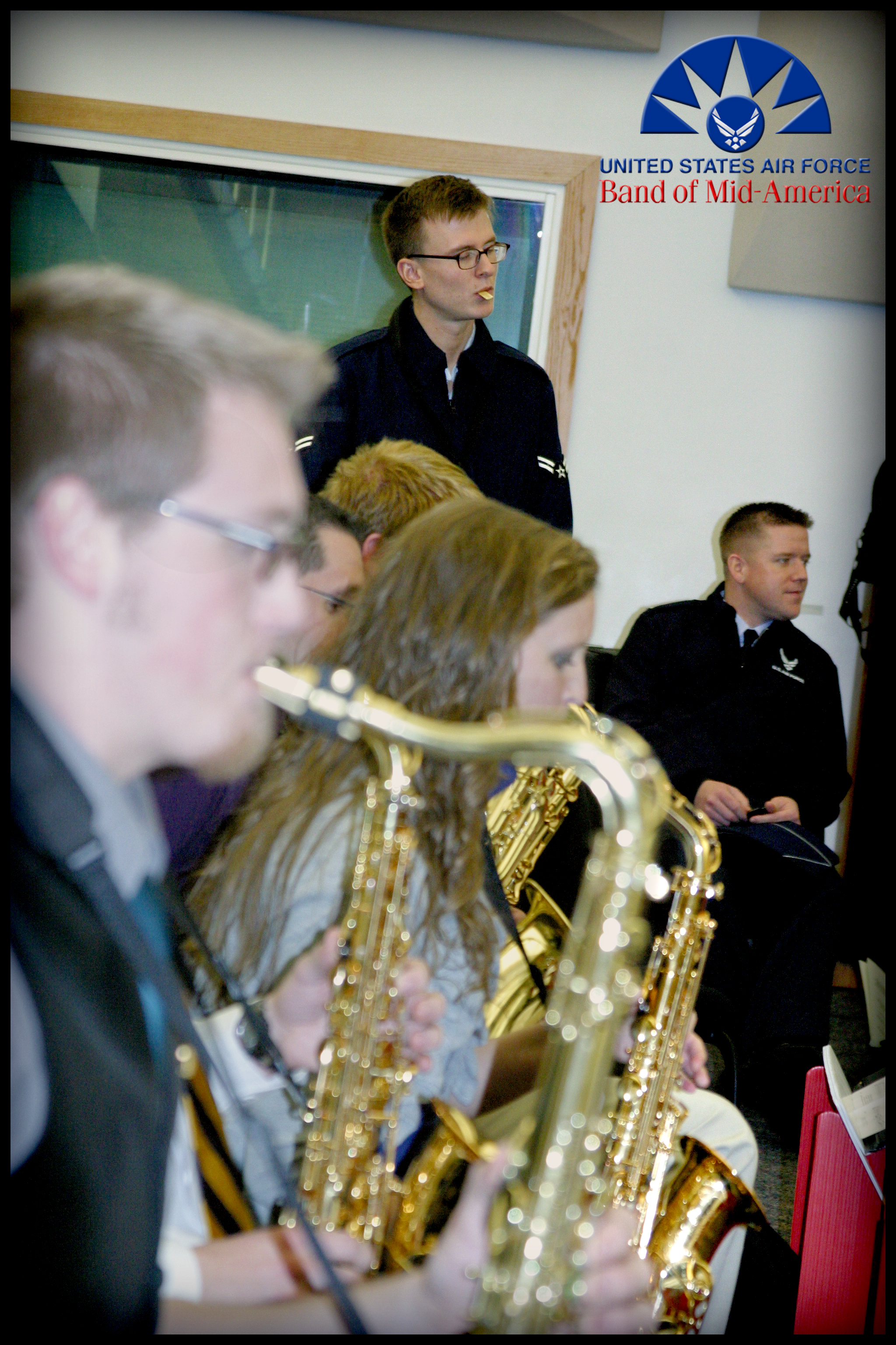 Band of Mid-America holds master class for Murray State University