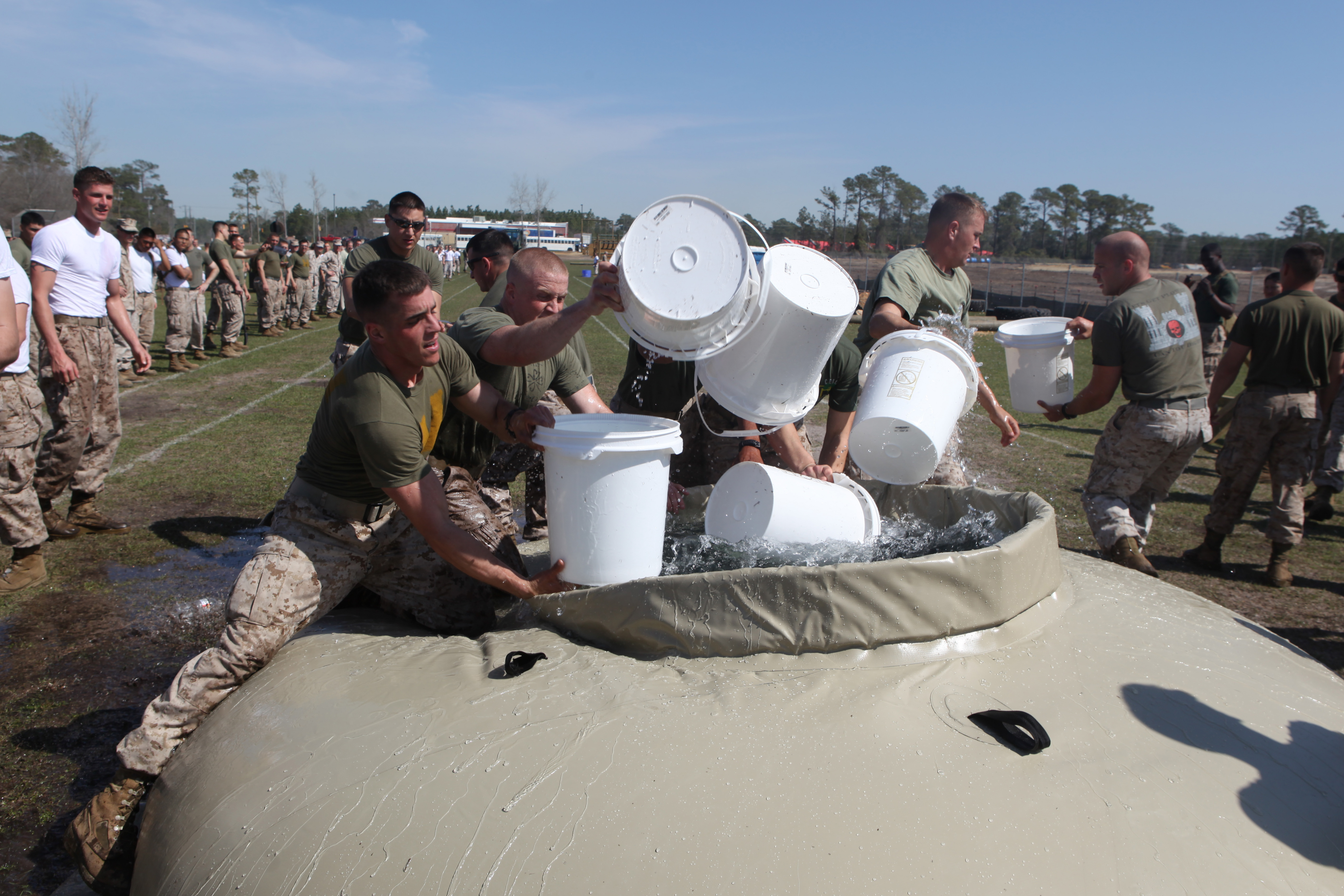df3f10aa0 Download Hi-Res Photo Download Share Photo Details Details. Marines take a  few moments to rest during the annual Saint Patrick's Day ...
