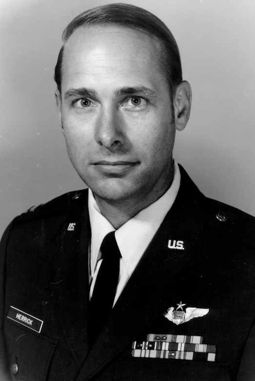 Capt. Kenneth L. Herrick was born in Columbia, S.C., on Jan. 19, 1946. He received a Bachelor's Degree in Aeronautical Engineering from the University of Illinois and was commissioned a 2nd Lt. in 1970.
