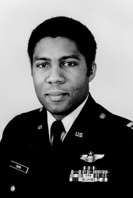 Maj. William S. Dixon, Jr. was born Dec. 25, 1946, in Detroit, Mich. Commissioned a 2nd Lt. in the Air Force in 1968, Maj. Dixon obtained a Master's Degree in Political Science from Ball State University in Muncie, Ind.