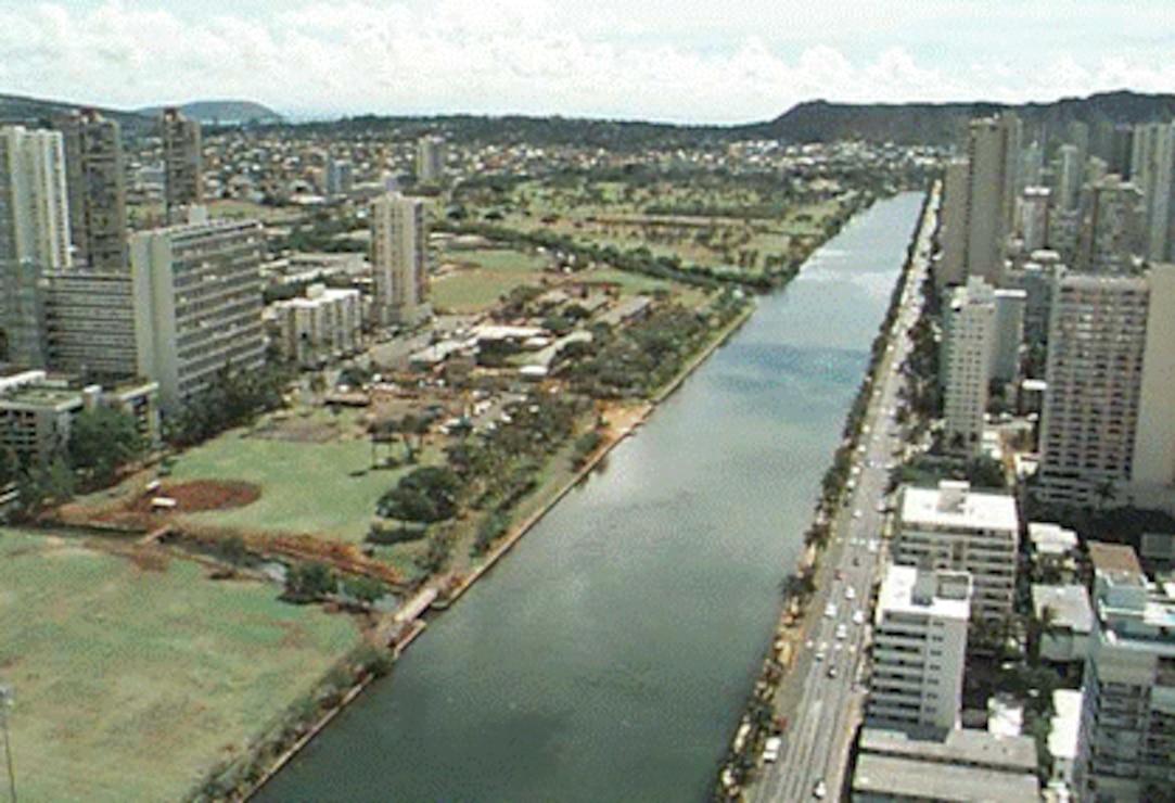 Ala Wai Canal, Oahu
