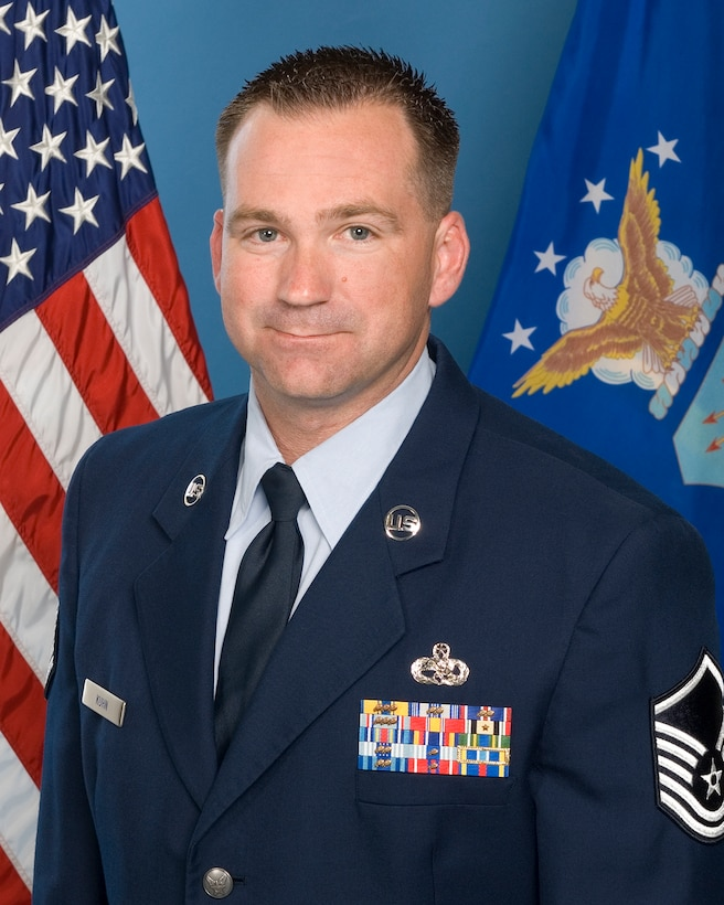 2011 AFOTEC Senior NCO of the Year Master Sgt. Michael Kuhn