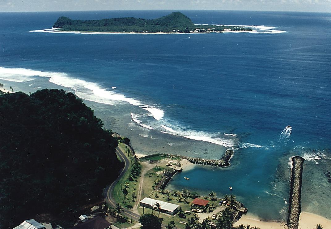 Auasi Small Boat Harbor, Tutuila, American Samoa