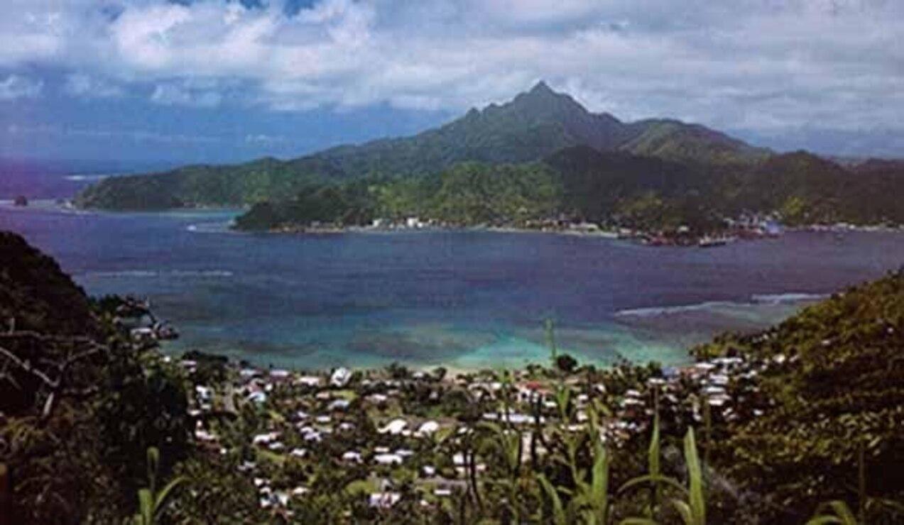 Poloa Area, Tutuila, American Samoa
