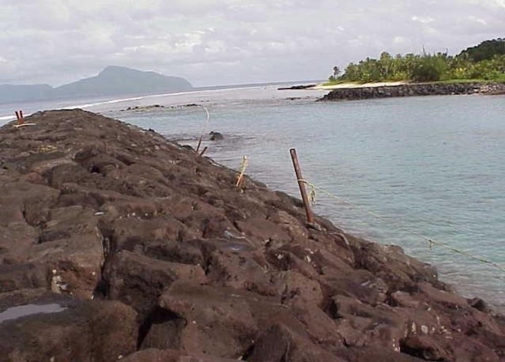 Tau Small Boat Harbor, Tutuila, American Samoa