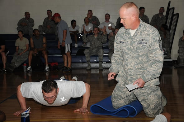 100 Pushup Challenge Chart: 23d FSS wins Top 3 push-up challenge e Moody Air Force Base ,Chart
