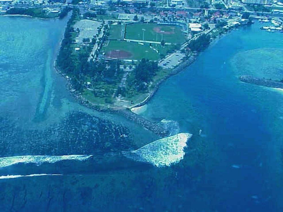 Agana Small Boat Harbor, Guam