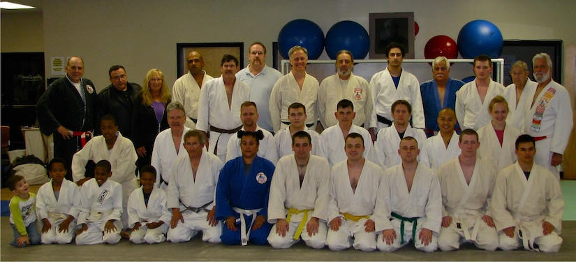 Joint Base Charleston hosted United States Judo Association President Gary Goltz at JB Charleston - Weapons Station March 7. Goltz was in town to conduct a free seminar for the Samurai Judo Association, the largest club in the U.S. Judo Association, which provides free lessons to active-duty military. (Courtesy photo)