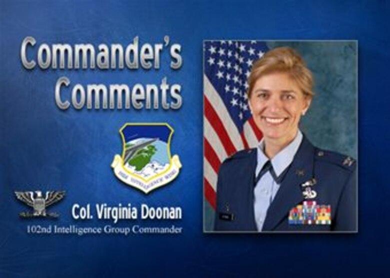 Commander's Comments: Col. Virginia Doonan