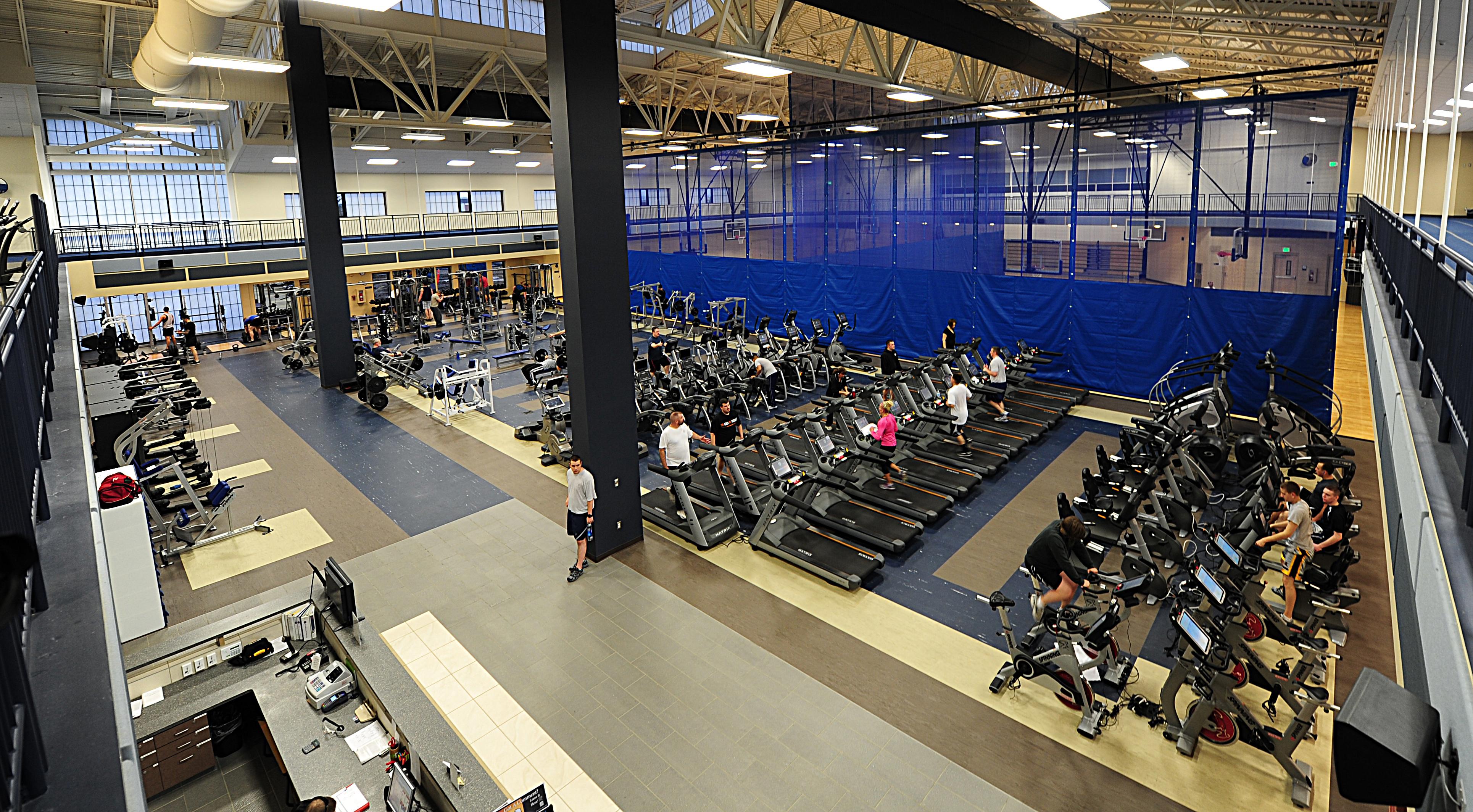Tinker afb gym