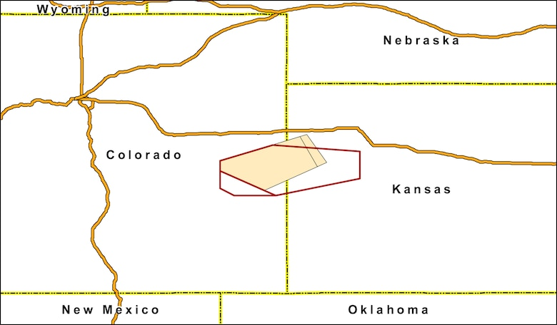Proposed modification of the Cheyenne Military Operations Area