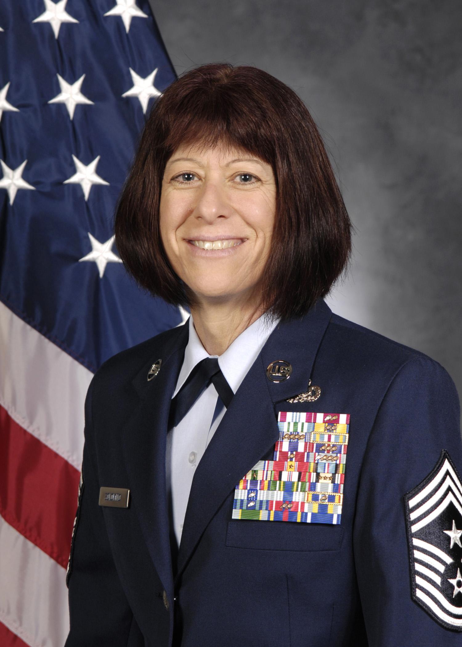 Chief Master Sgt Cynthia M Solomito