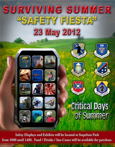JOINT BASE SAN ANTONIO - LACKLAND, Texas -- The 101 Critical Days of Summer safety campaign begins on Memorial Day and ends on Labor Day.