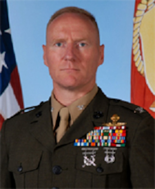 Chief of Staff, II Marine Expeditionary Force.  Colonel James M. Bright was born in Badgodesburg, Germany in September 1964. He attended Virginia Military Institute and graduated in May 1987. He was commissioned a Second Lieutenant in July 1987 upon completion of OCS.