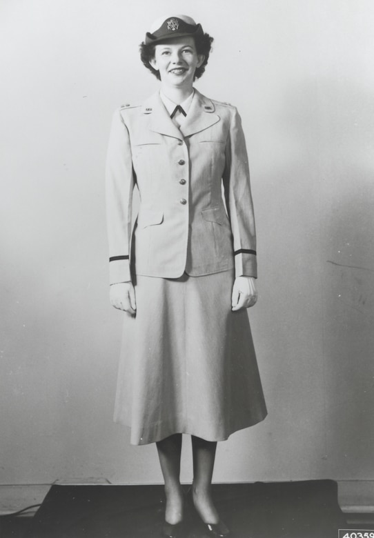 First uniforms for the new U.S. Air Force, early 1950's.