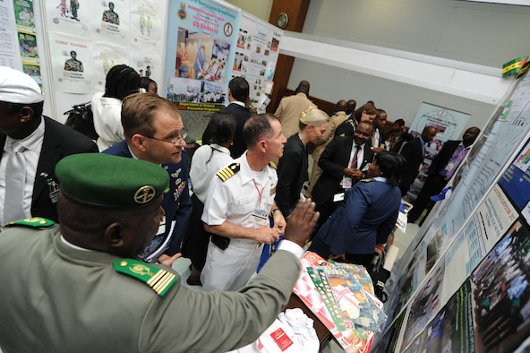 MAPUTO, Mozambique -- Military and civilian delegates and subject matter experts from 77 nations gathered for the 2012 International Military HIV/AIDS Conference in Maputo, Mozambique, May 7- 10, to share best practices in HIV prevention, care and treatment.. (U.S. Air Force photo/Staff Sgt. Benjamin Wilson/Released)