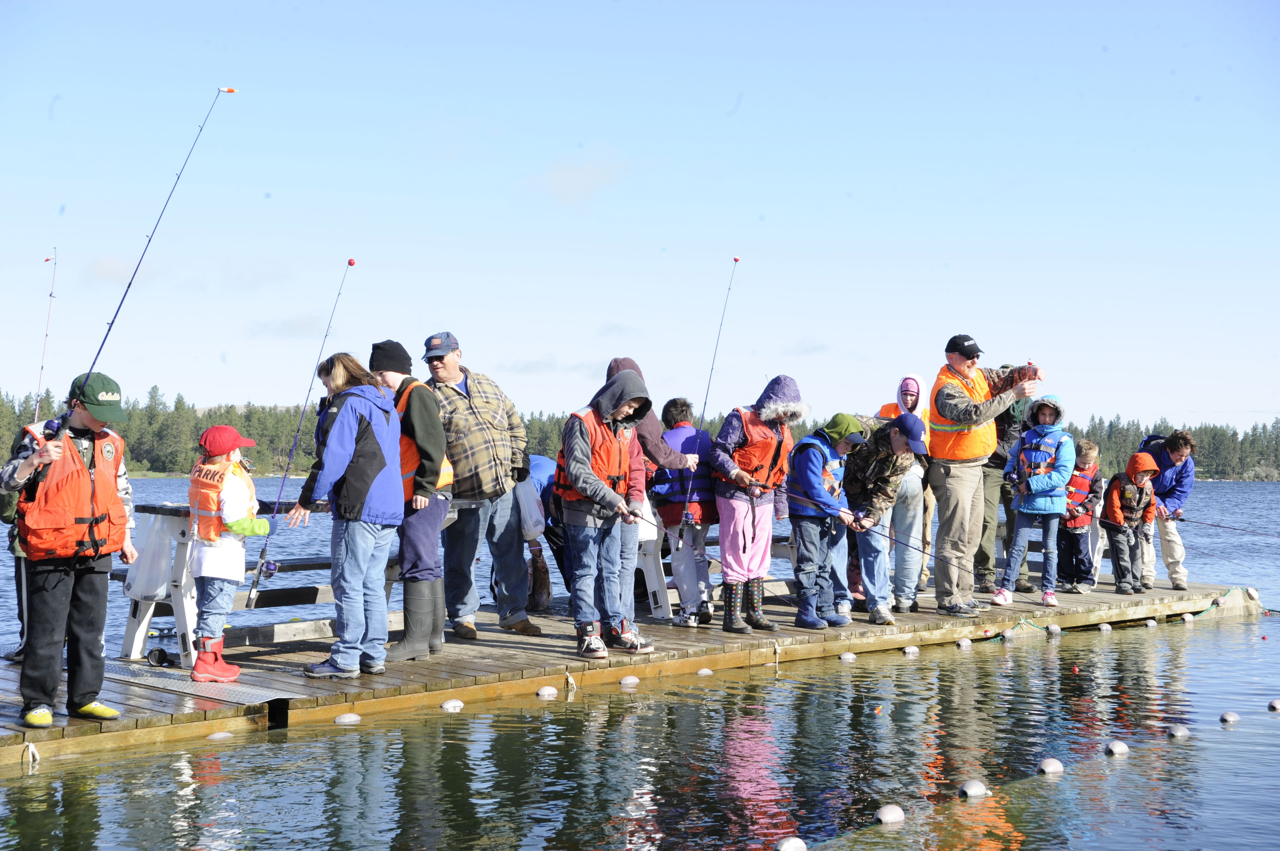 Clear lake fishing tourney success for local youth for Clear lake fishing