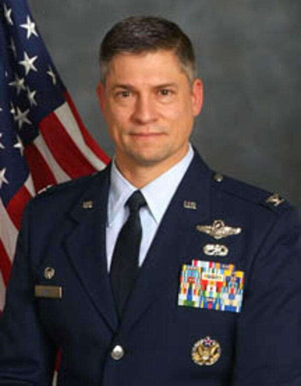 Col. Jeff Burkett.  Commander, 152AW Reno, NV