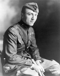Capt. Eddie Rickenbacker. (U.S. Air Force photo) WWI