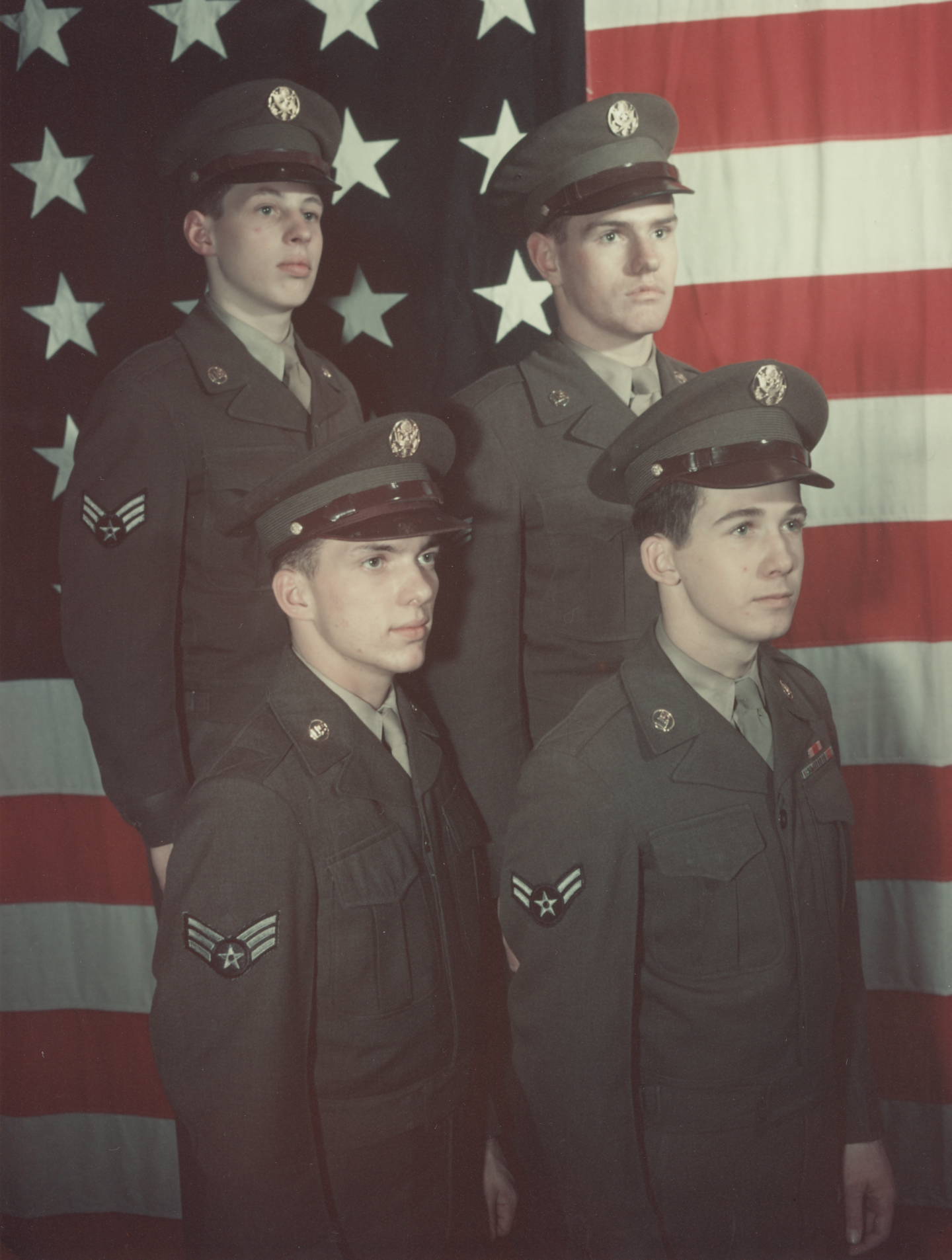 Early 1950 s -- First USAF Uniforms   Air Force Historical Support ... 10caf9aca