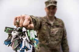 KABUL, Afghanistan — Air Force Maj. Mike Brannon helped write the program that trains Afghans to take on property management duties.