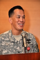 LOS ANGELES, Calif. — Col. Mark Toy, U.S. Army Corps of Engineers Los Angeles District commander, mentioned he recently lost his grandmother, whose restaurant he remembers playing in as a child. Their hard work ensured a better life for their children, with all three of their sons graduating from college.
