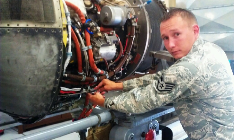 Desert Lightning Team's Weekly Warrior Staff Sgt. David Hart