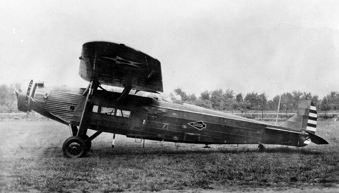 Fokker Y1C-14B. (U.S. Air Force photo)