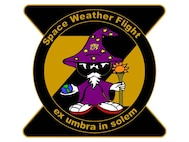 2ND WEATHER SQUADRON, SPACE WEATHER FLIGHTLOGO