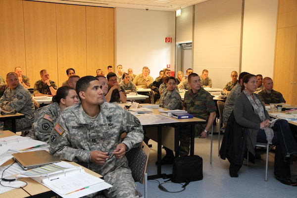 WIESBADEN, Germany — More than 50 students from six NATO countries attended a four-day U.S. Army Corps of Engineers Europe District engineering course, the week of May 15 at the Wiesbaden Entertainment Center in Germany.