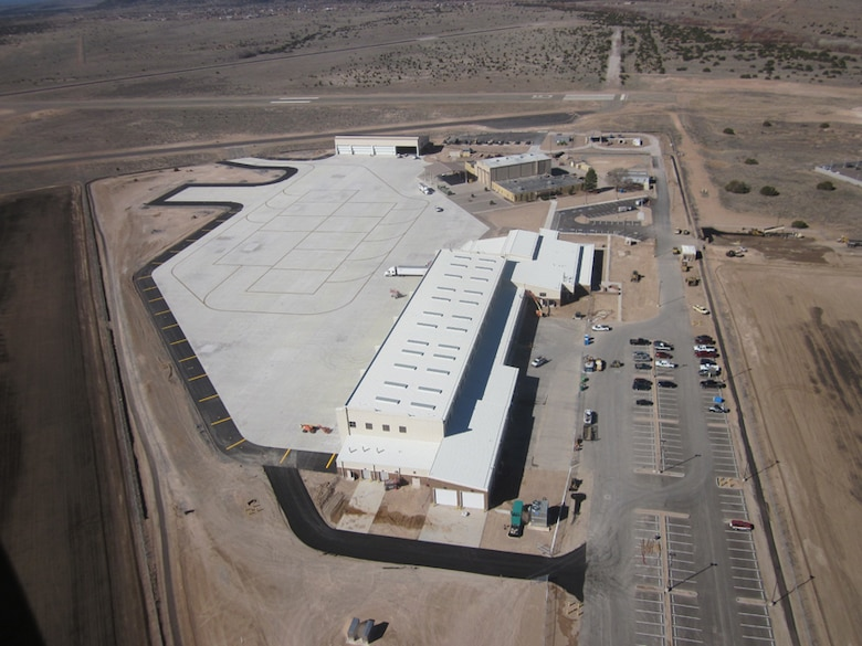 The new Army Aviation Support Facility was built with environmental efficiency at the forefront.