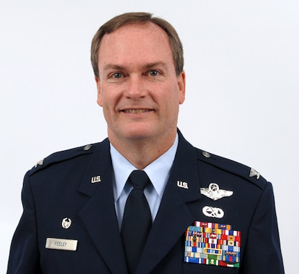 Colonel Michael J. Feeley, commander, 166th Operations Group, Delaware Air National Guard. (U.S. Air Force photo/Senior Master Sgt. Gerald Dougherty)