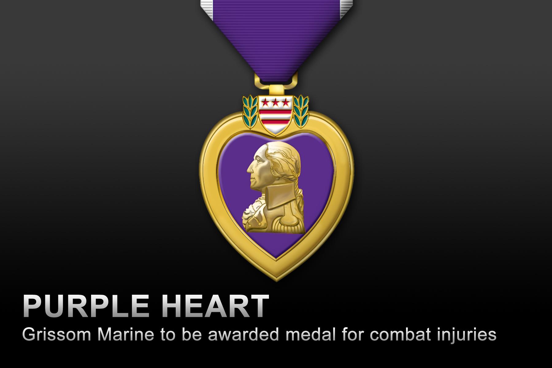 Grissom marine to be awarded purple heart grissom air reserve grissom marine to be awarded purple heart buycottarizona