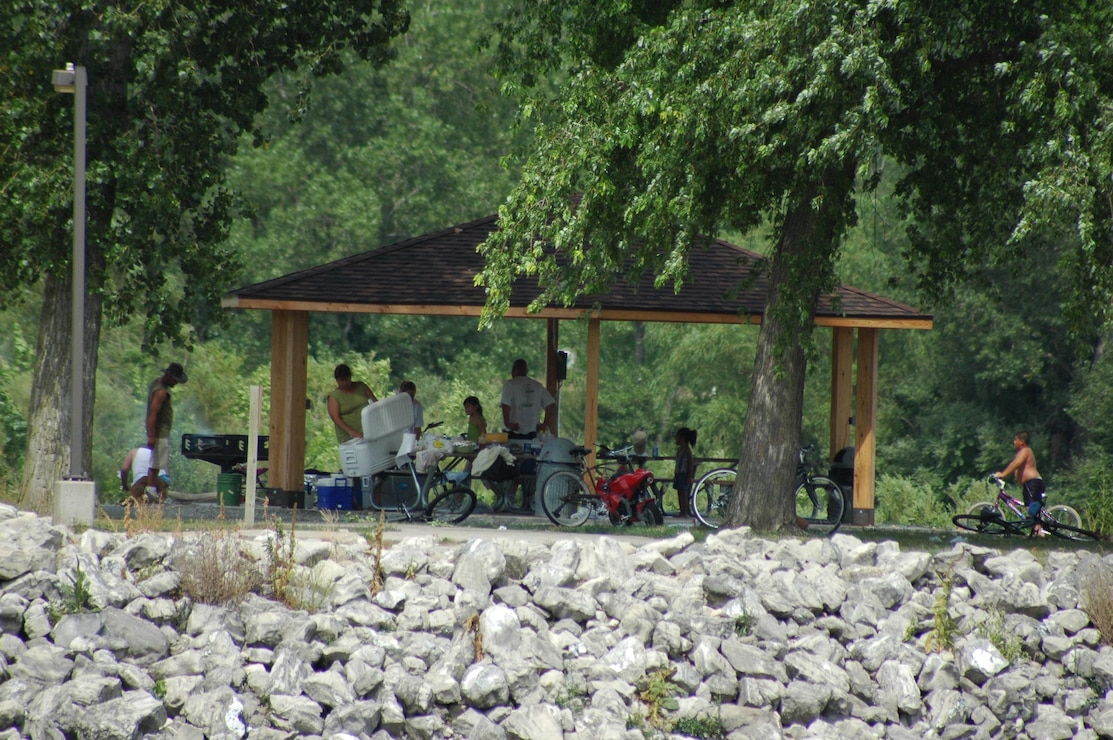 North Tailwater picnic shelter