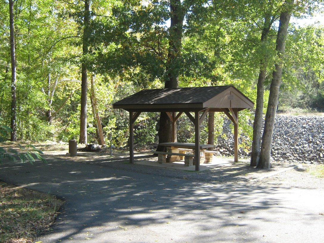 Blue Mountain Lake offers you shaded campsites to enjoy.