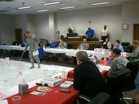 Col Eckstein participates in the New Madrid Emergency Planning Exercise