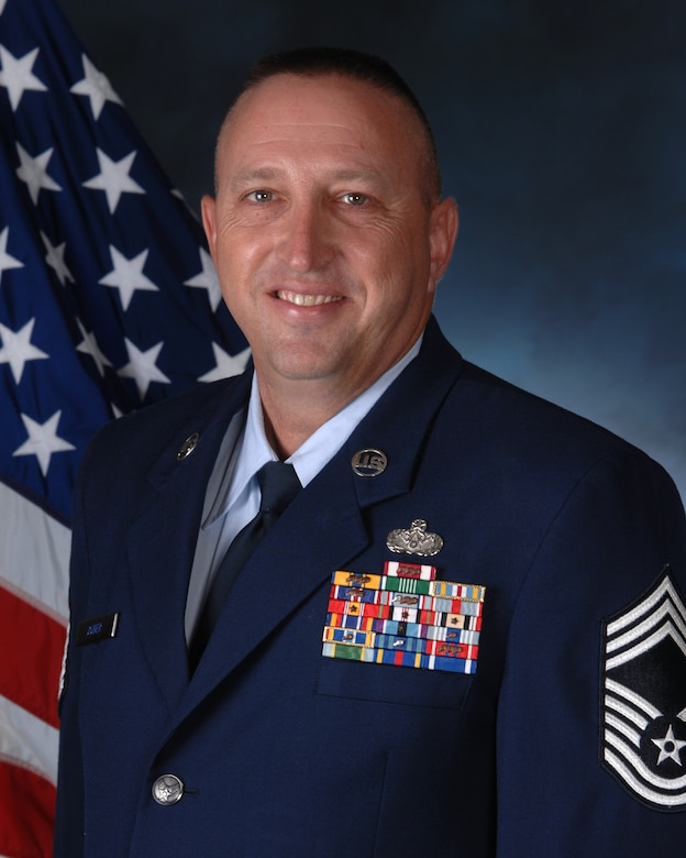Chief Master Sgt. Todd Joiner, 554th REDHORSE director of operations (U.S. Air Force courtesy photo/Released)
