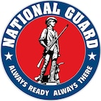 National Guard Emblem. In accordance with Chapter 3 of AFI 84-105, commercial reproduction of this emblem is NOT permitted without the permission of the proponent organizational/unit commander