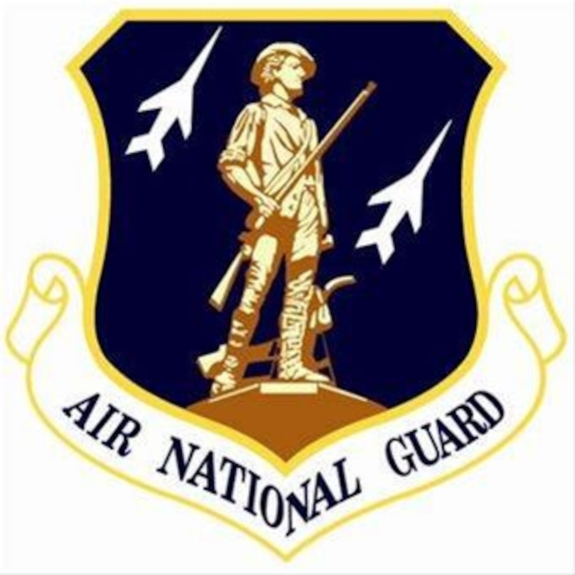 Air National Guard Crest. In accordance with Chapter 3 of AFI 84-105, commercial reproduction of this emblem is NOT permitted without the permission of the proponent organizational/unit commander