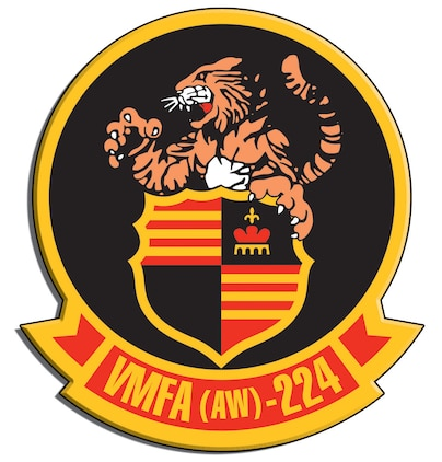 Marine All-Weather Fighter Attack Squadron 224 logo