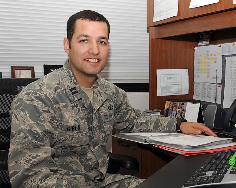 Desert Lightning Team's Weekly Warrior Capt. Jason Giron