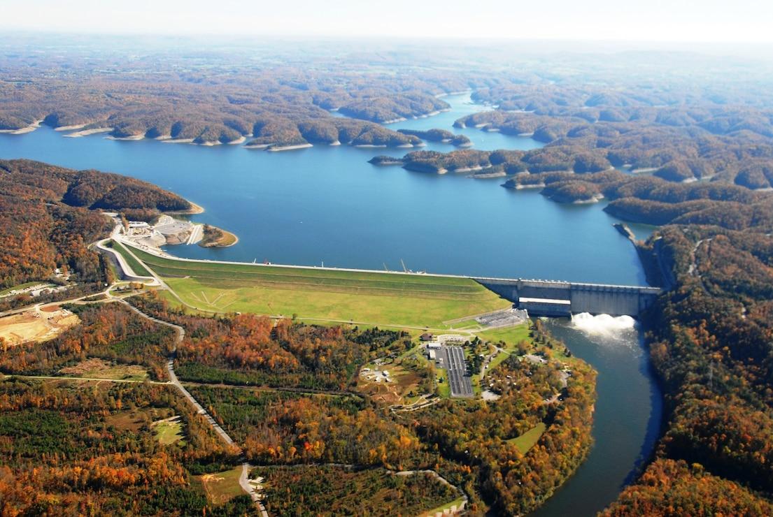 Wolf Creek Dam, Jamestown, Ky.