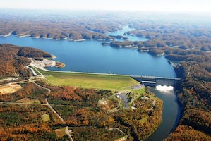Wolf Creek Dam, Jamestown, Ky.