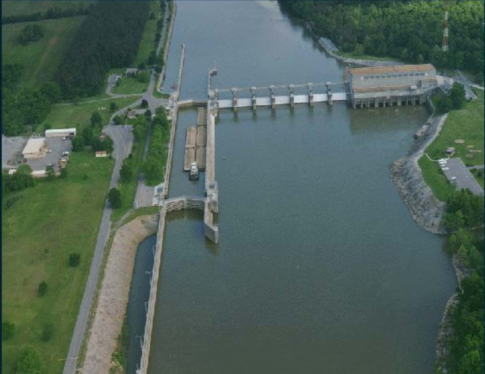 Cheatham Lock and Dam Project