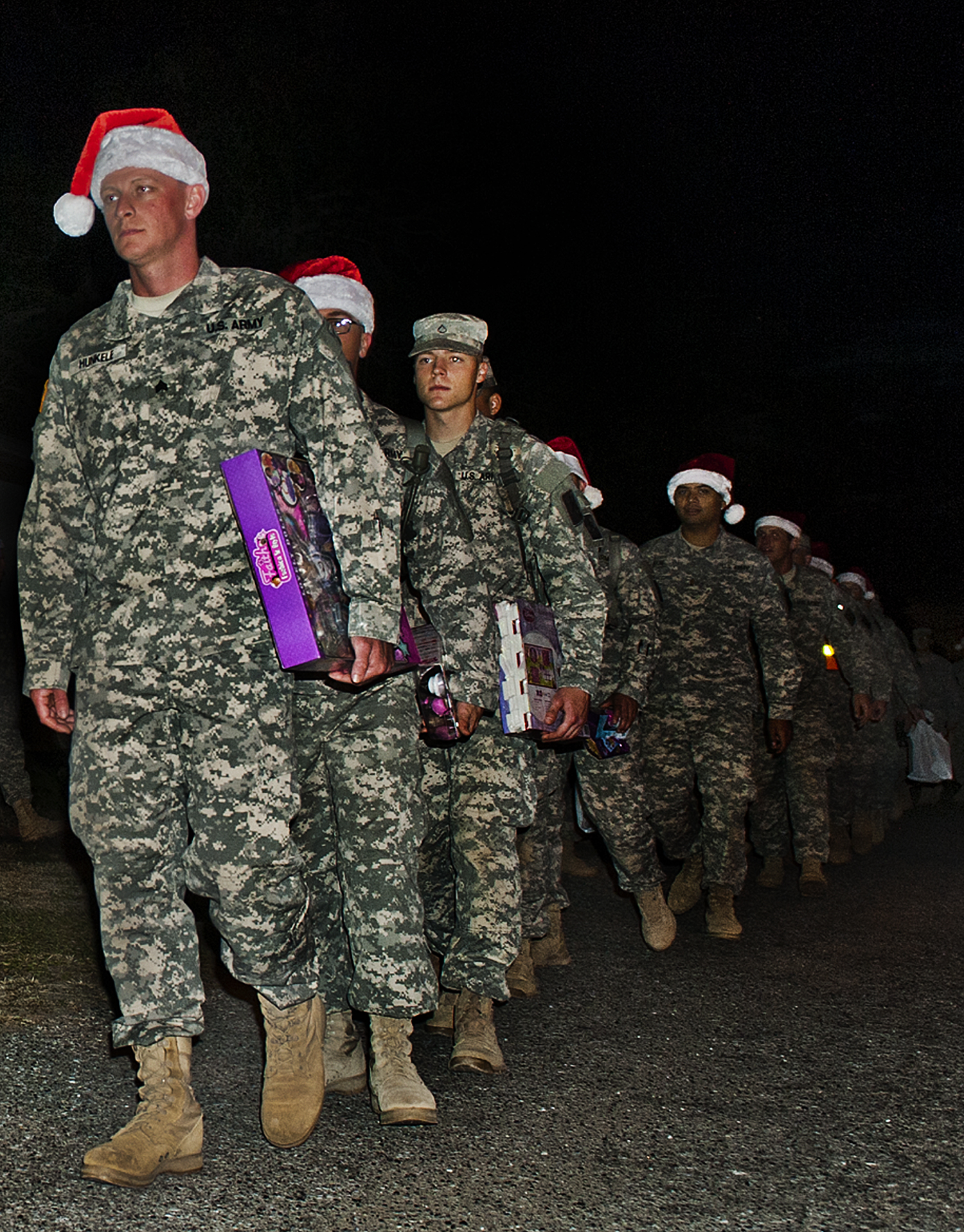 Christmas goes rolling along > Eglin Air Force Base