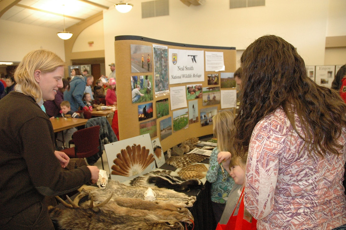 Booth at Environmental Fair