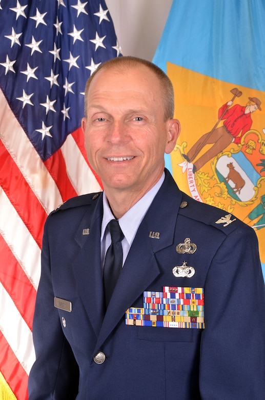Colonel David E. Deputy, Delaware Air National Guard (Air National Guard photo/Staff Sgt. Nathan Bright)
